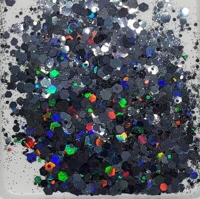 Chunky Black Beauty Glitter