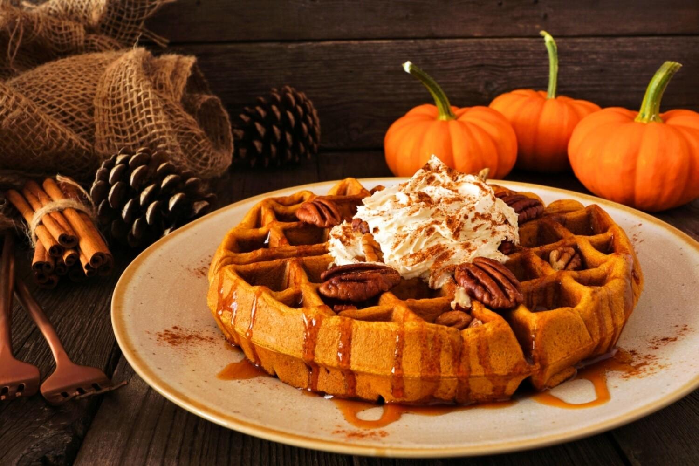 Pumpkin Pecan Waffles BBW Type