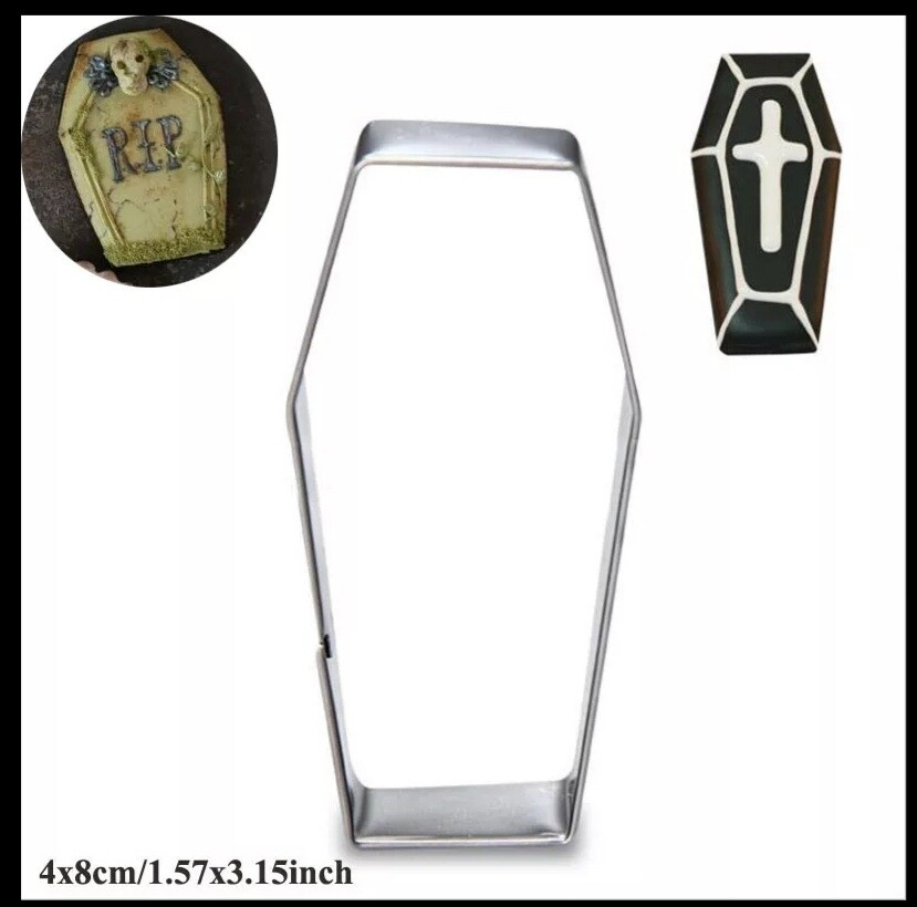 Coffin Cookie Cutters Mold