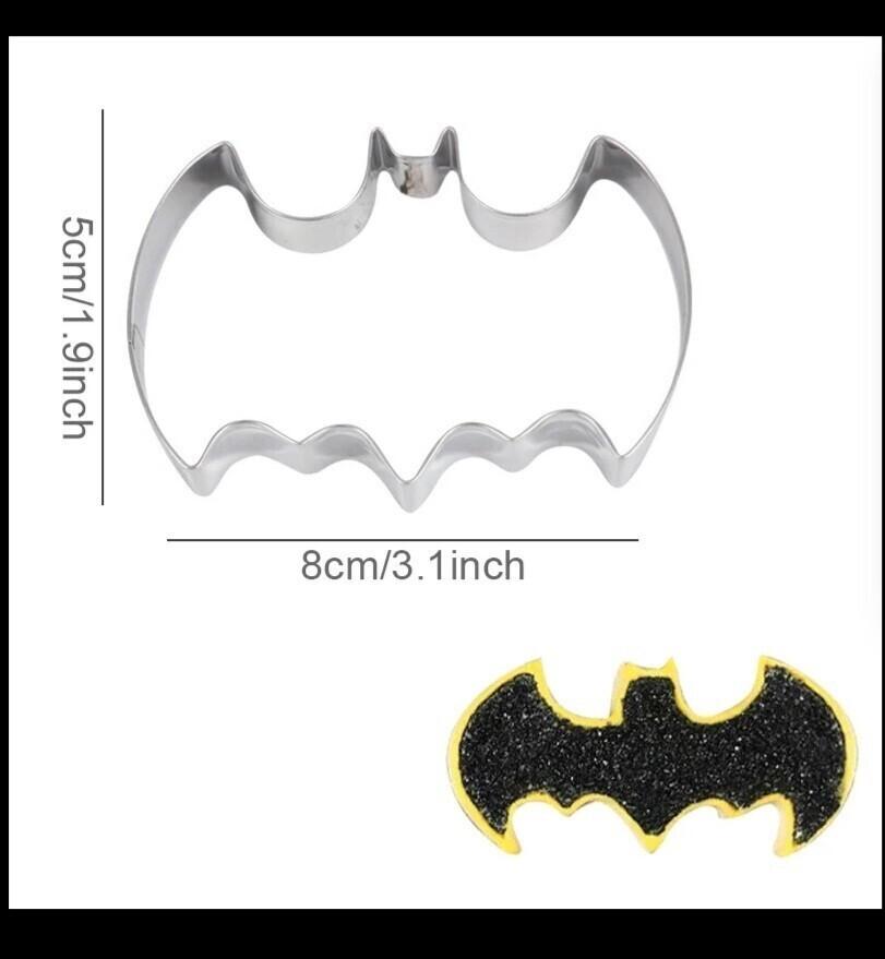 Batman Cookie Cutters Mold
