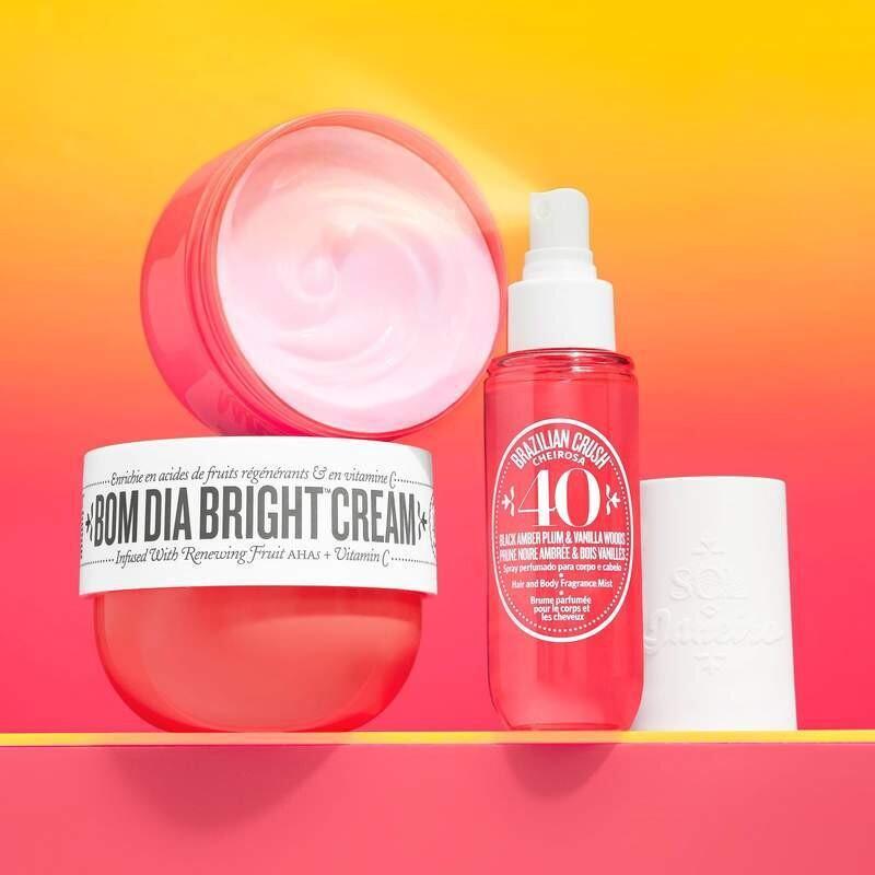 Black Amber Plum & Vanilla Woods Sol De Janeiro Bom Dia Bright TYPE Fragrance