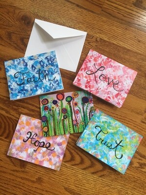 Positive Word Notecards
