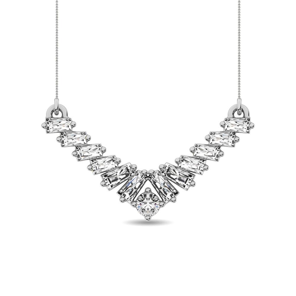 0.20Ctw Diamond Necklace 10KW