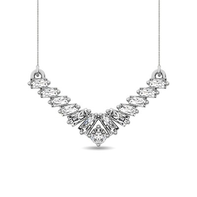 0.20Ctw Diamond Necklace 10KW