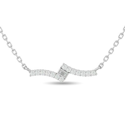 0.15Ctw Diamond Necklace 10KW