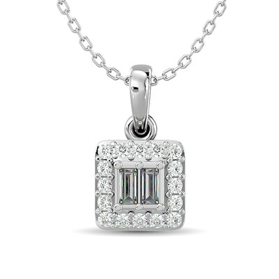 0.10Ctw Diamond Pendant 10KW
