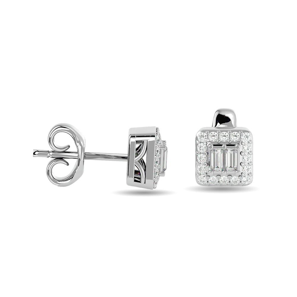0.25Ctw Diamond Earrings 10KW