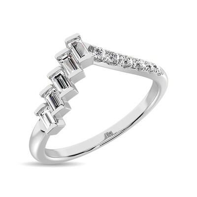 0.25Ctw Fashion Diamond Ring 10KW