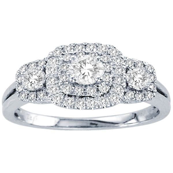1CTW Diamond Wedding Ring