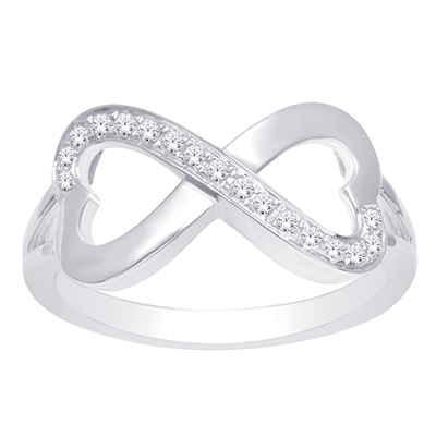 0.10CTW Diamond Fashion Ring 10K