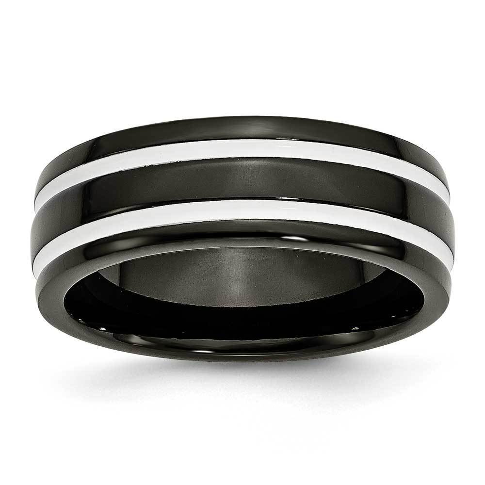 Men's 2 Tone Titanium Band