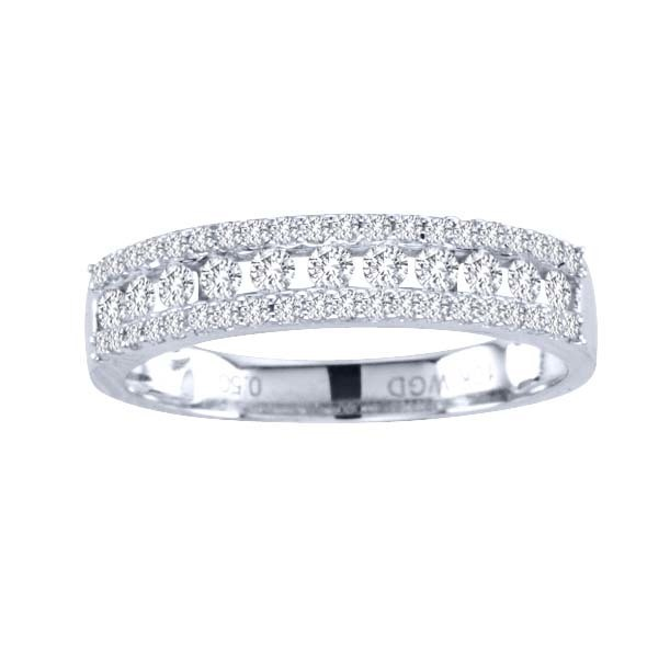 0.50CTW Diamond Ring 14KW