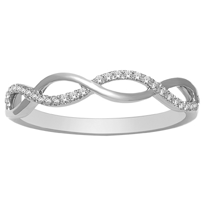 0.10CTW Diamond Fashion Ring 10K