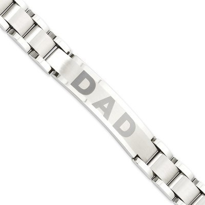 Stainless Steel DAD enameled Bracelet