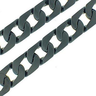 Men's Curb Link Stainless Steel Bracelet
