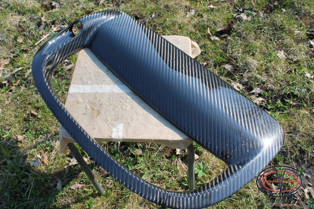Manufacturing defect - NO RETURN - Bonnet Hood Scoop from Carbon Fiber for TOYOTA Celica  ST 182, ST 183, ST 185 GT4