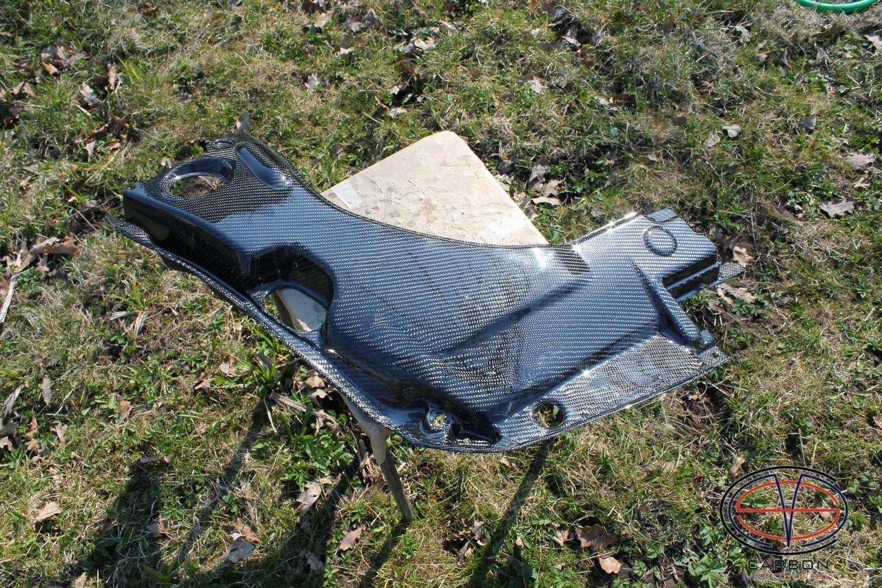 Manufacturing defect - NO RETURN - Engine bay Carbon Fiber panel (big) for TOYOTA Celica  T23