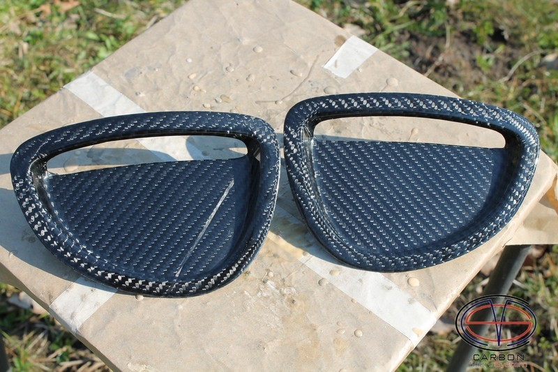Manufacturing defect - NO RETURN - Inserts in GT4 hood from Carbon fiber for TOYOTA Celica ST205