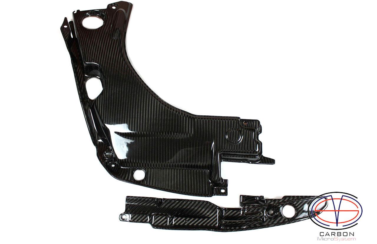 Engine bay Carbon Fiber panels for TOYOTA Celica T23