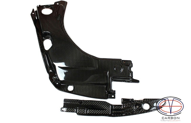 Engine bay Carbon Fiber panels for TOYOTA Celica T23