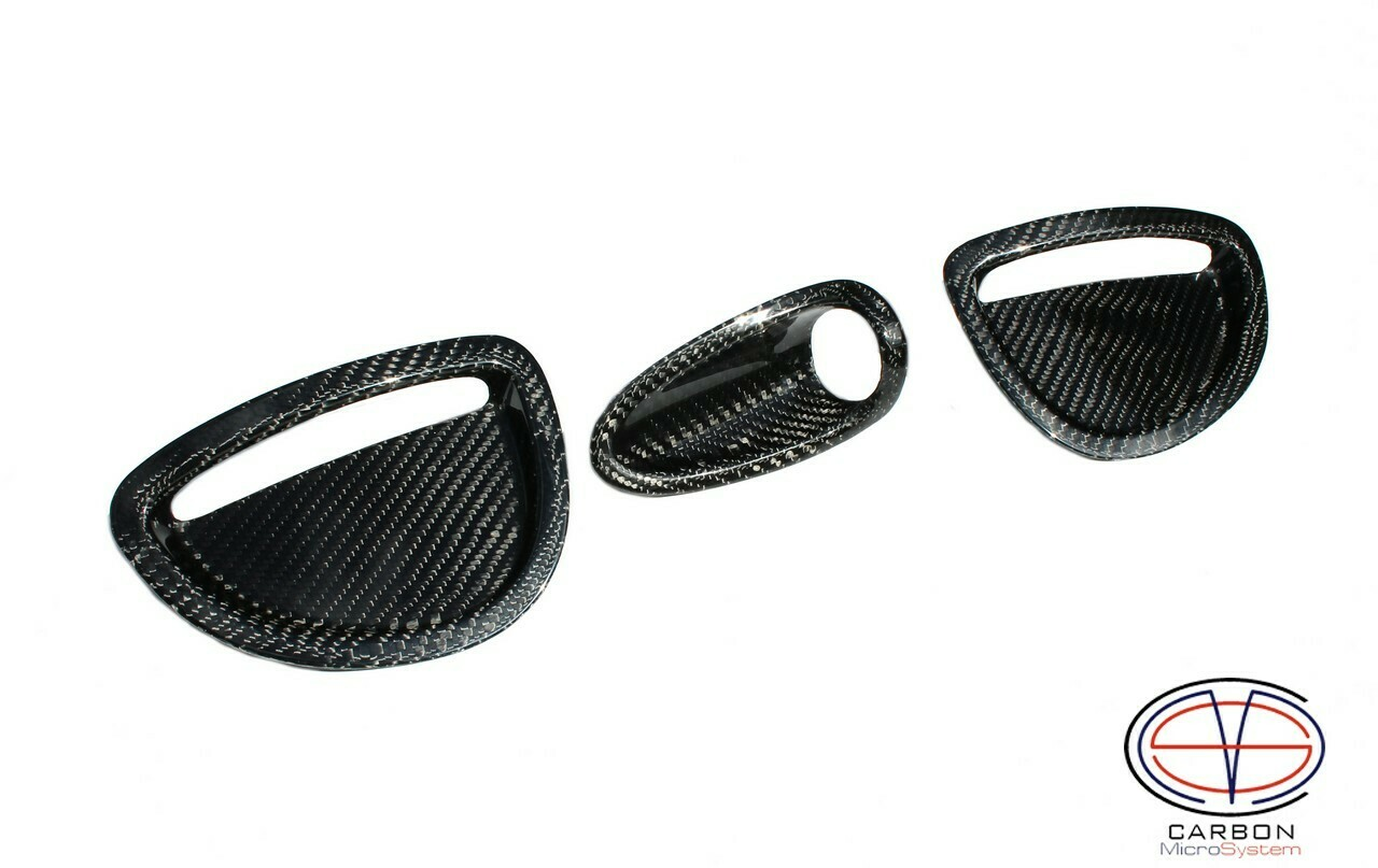 Inserts in GT4 hood from Carbon fiber for TOYOTA Celica ST205