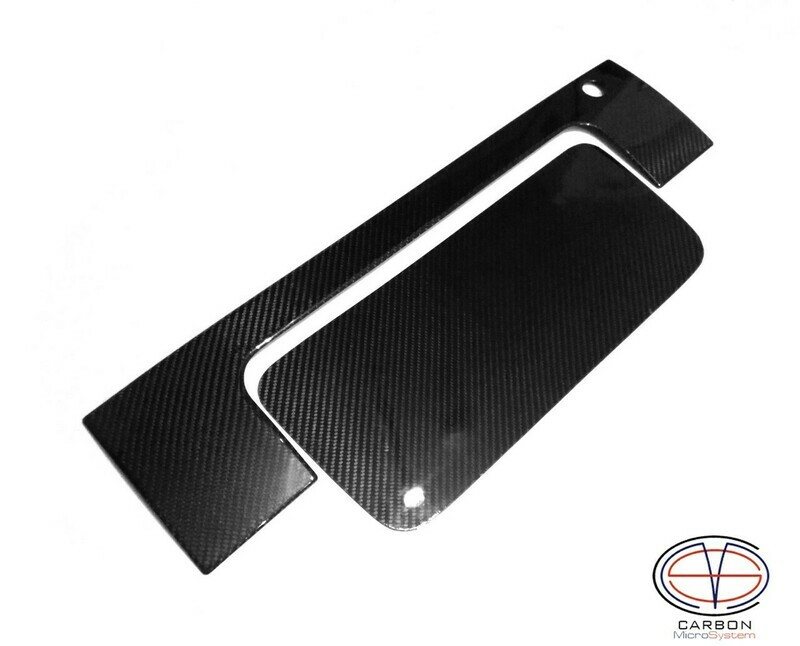 Number plate panel surround from Carbon Fiber for TOYOTA Celica ST182, ST183, ST185 GT4