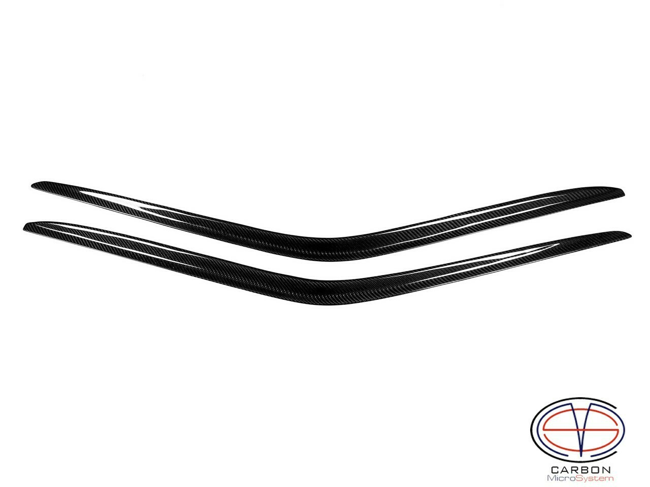 Window Wind - Rain Deflectors from Carbon Fiber for TOYOTA Celica  ST162, ST165 GT4