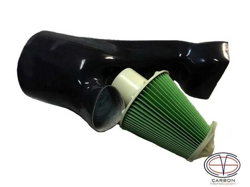 Cold air intake + Filter for engine 4A-GE - TOYOTA Levin/Trueno AE110, AE111 - Fiberglass