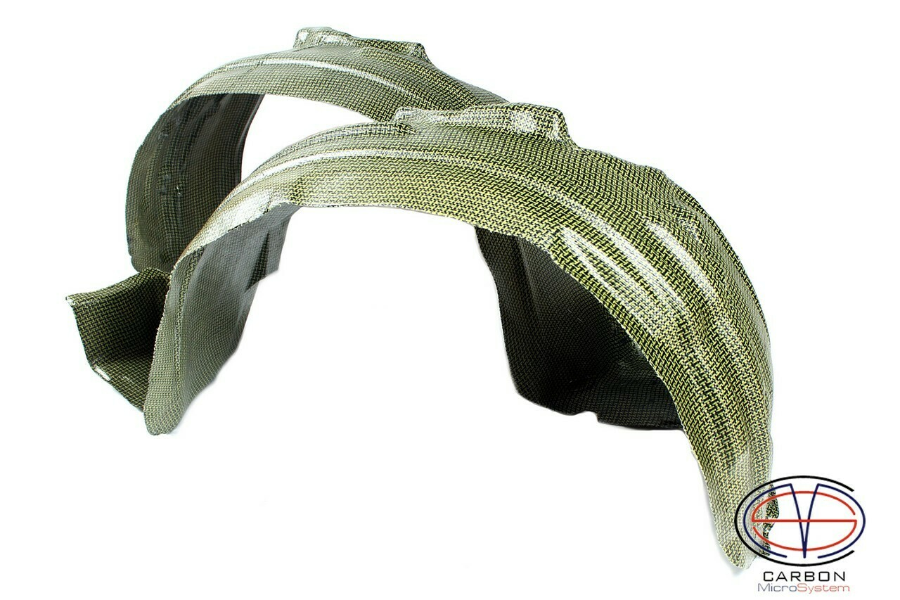 Inner fender liner (wide) for Toyota Celica ST18 from Kevlar and Carbon Fiber