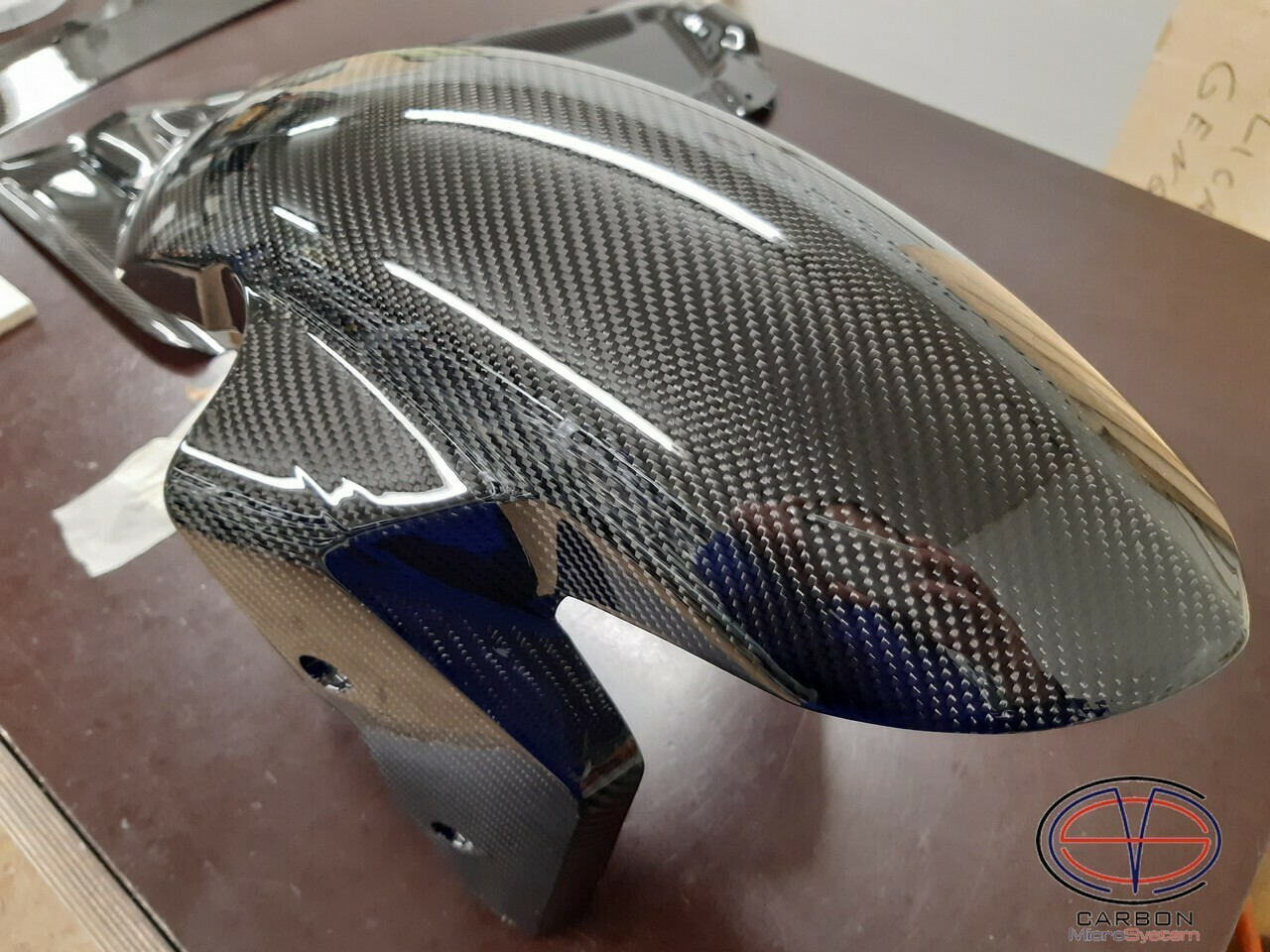 Front fender from Carbon Fiber BMW S1000RR
