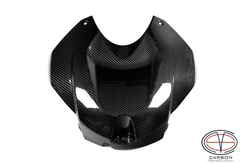 Fuel tank cover from Carbon Fiber BMW S1000RR
