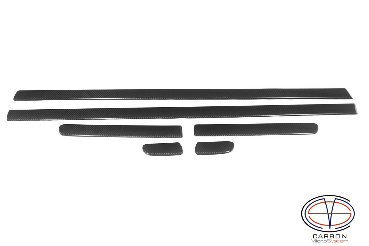 Side molding from Carbon fiber for Toyota Celica ST18