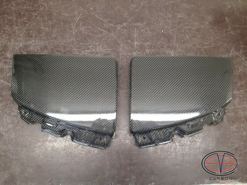 Manufacturing defect - NO RETURN - Headlight cover from Carbon Fiber for TOYOTA Celica  ST18 GT4