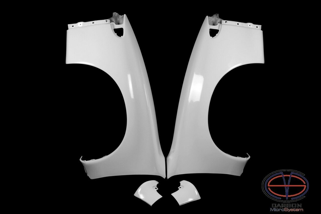 Front fenders for Toyota Celica ST18 from Fiberglass (wide body)