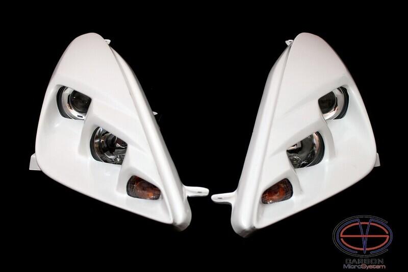 Headlights BARS2FAST for Toyota Celica t23 from Fiberglass