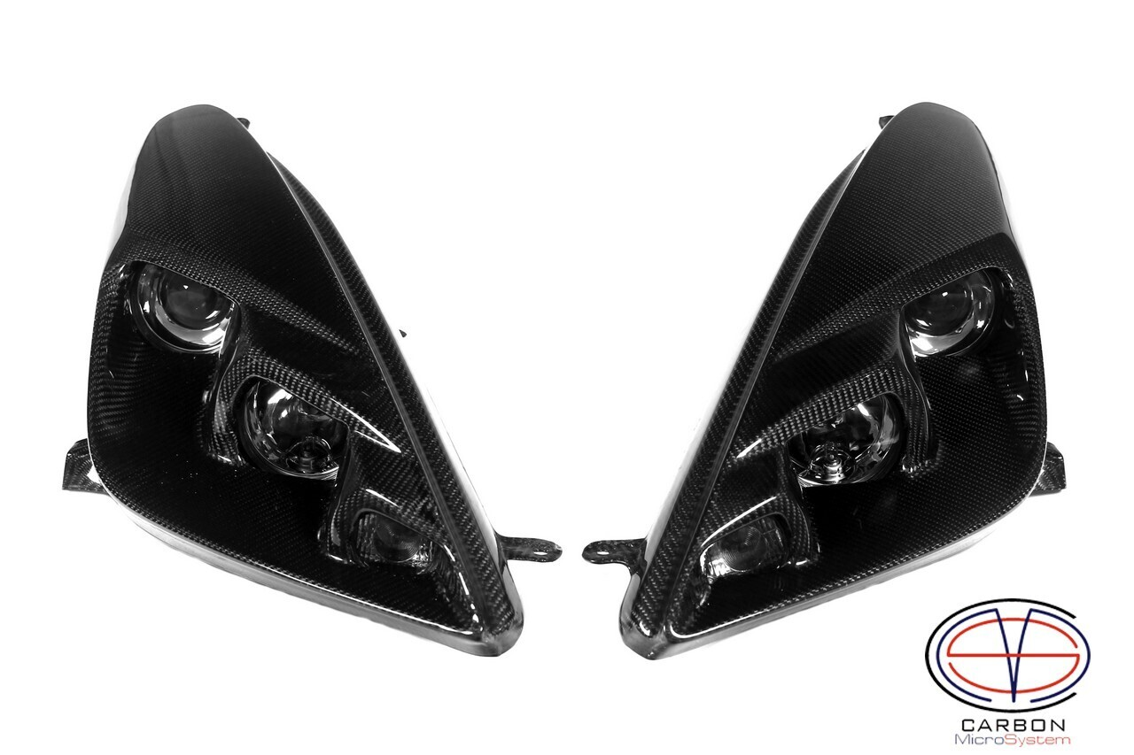 Headlights BARS2FAST for Toyota Celica t23 from Carbon Fiber