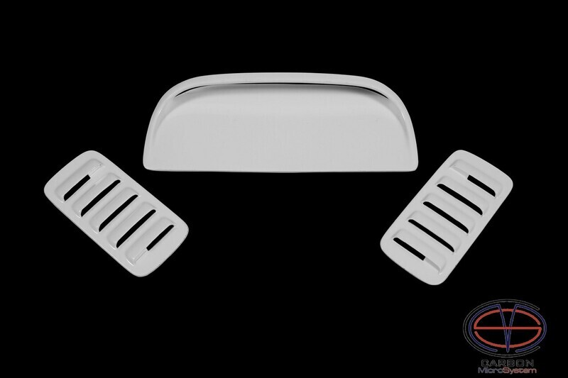 2 Inserts and Hood Scoop from Fiberglass for TOYOTA Celica  ST185 GT4