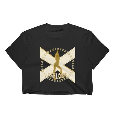 Taylor X Gold Badge Cropped T-Shirt