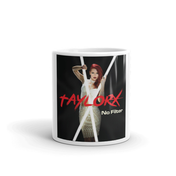 "Taylor X- ""No Filter"" Album Art Mug"