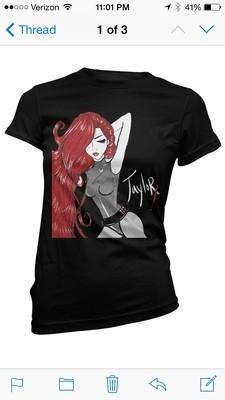 Vigilante Taylor X Comic T-Shirt