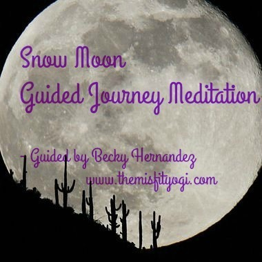 Snow Moon Guided Journey Meditation - Release & Receive