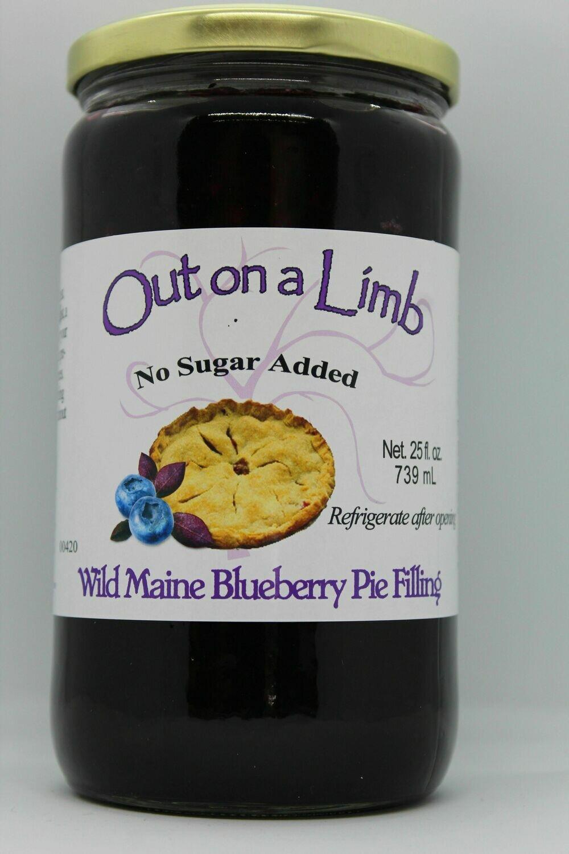 WILD MAINE BLUEBERRY PIE FILLING (PFBN)