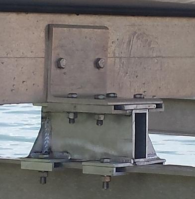 "Bunker board Riser 4"" set of 4"