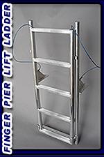 6 Step Finger Pier Lift Ladder
