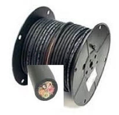 5 wire control cable 14 ga.  * sold by the foot*