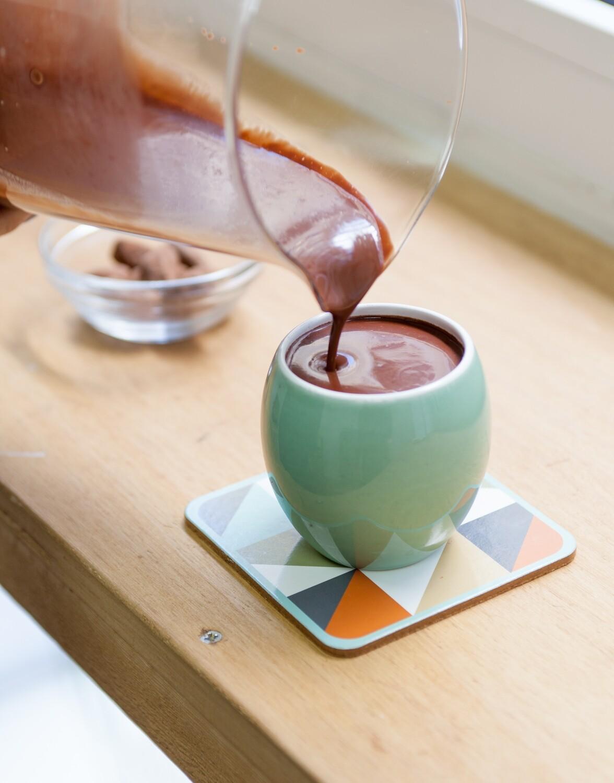Mélange pour faire chocolat chaud