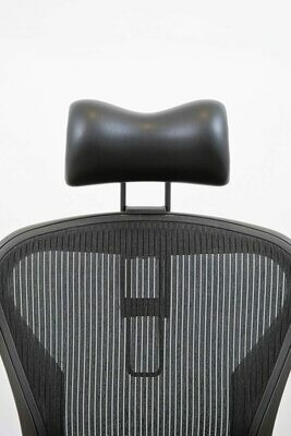 Atlas Headrest for Herman Miller Aeron Chair - Synthetic Leather