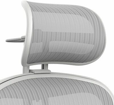 Atlas Suspension Mesh Headrest for Herman Miller Remastered Aeron Chair - Mineral
