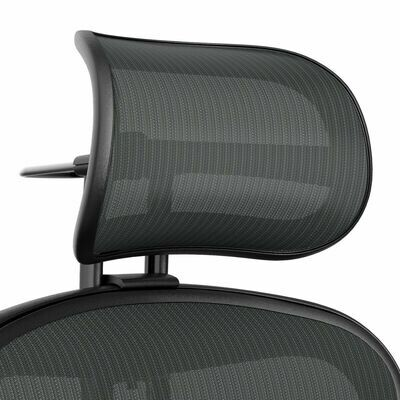 Atlas Suspension Mesh Headrest for Herman Miller Remastered Aeron Chair - Graphite