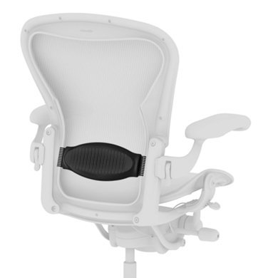 Aeron Chair Lumbar Support Pad - Black
